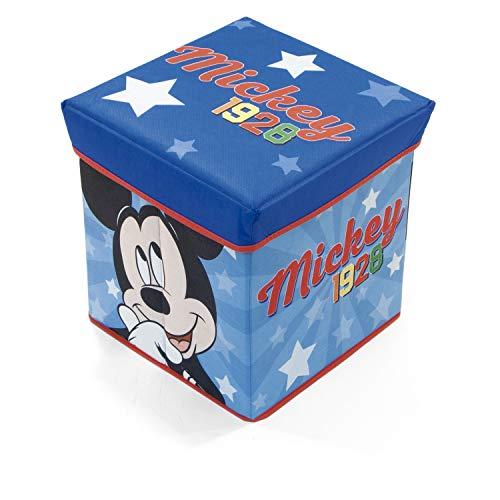 Arditex WD13015 Siège de gardien textile pliable de 30 x 30 x 30 cm de Disney Mickey