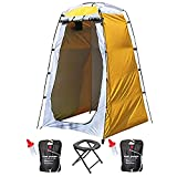 Camping Shower Tent, Portable Shower for Camping, Potra Potty, 5 Gallon Solar Water Bags, Shower Mat, Pop up Changing Room, Instant Beach Tent, Privacy Shelter, Camp Toilet, Waterproof Tent, ez up