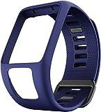 Comcase Compatible con Spark 3 Bandas de Reloj Reemplazo de Correas de Reloj de Silicona para Tomtom Runner 2 3,Spark 3, Golfer 2,Adventurer Smartwatches
