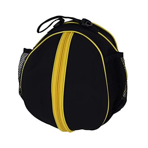 Abaodam Bolsa de almacenamiento de baloncesto con correa ajustable para el hombro, tela Oxford, impermeable, bolsa de transporte, portátil, fútbol, voleibol, etc