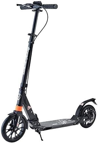 Patín Eléctrico Plegable for adultos Kick Frenos scooter con ruedas grandes y...