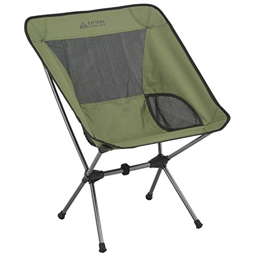 デイトナ バイク用 キャンプ チェア グリーン コンパクト アウトドアチェア 15214