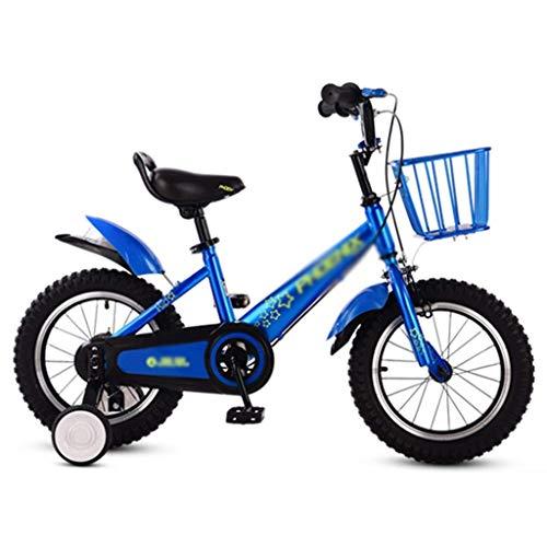 WJTMY Bicicleta de los niños, niños de la Calle/Bici de la Suciedad 12' 14', Las Mujeres de Bicicletas 3-10 años Cochecito Cochecito de niños de Todas Las Alturas Chico de Ciudad Buggy