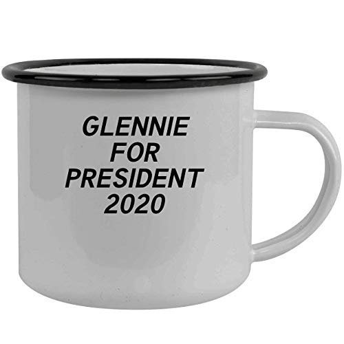 Glennie For President 2020 - Stainless Steel 12Oz Camping Mug, Black