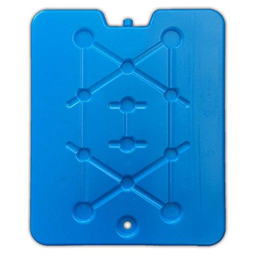 HAC24 XXL Kühlakku Kühlbox Blau Kühl Akku Pack Kühlelement 25,5 x 32cm Kühlpack Eisakku für Kühltasche