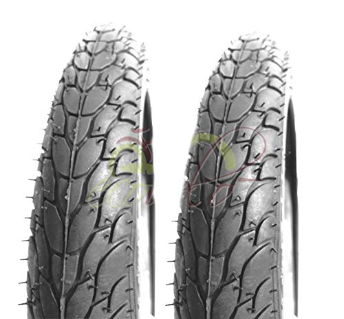 ECOVELO 2 Copertoni 14 x 1.75 (47-254) per Bici Bambino | Pneumatici Stradali Neri in Gomma Bike Bicicletta