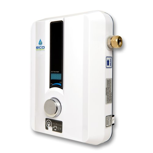 EcoSmart 8 KW Electric Tankless Water Heater, 8 KW at 240 Volts with Patented Self Modulating Technology