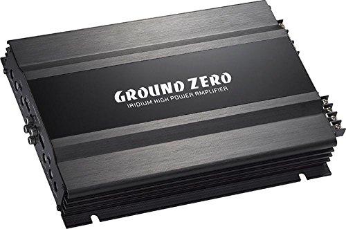 Ground Zero GZIA 4115HPX-II versterker met 4 kanalen