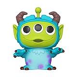 """Funko - Pop! Disney: Pixar - 10"""" Alien as Sully Figura Coleccionable, Multicolor (49604)"""