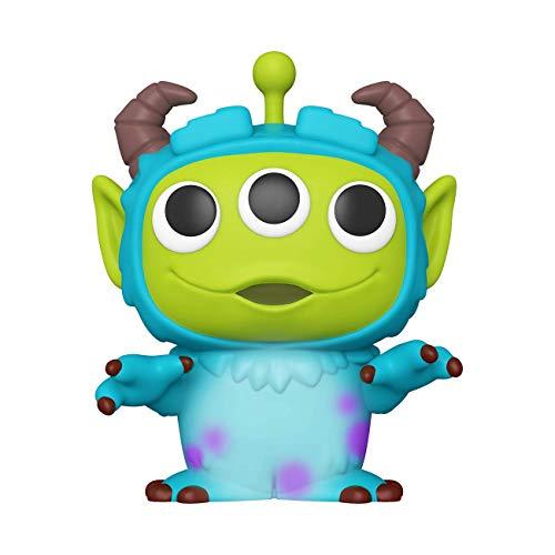 """Funko- Pop Disney: Pixar-10 Pixar Anniversary 10"""" Alien as Sully Figura da Collezione, Multicolore, 49604"""