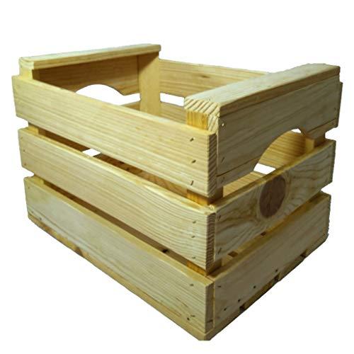 En Maderas - Caja de Almacenamiento, Caja decoración, Caja de Fruta (35x26x24 cm)