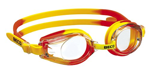 Beco Kinder Rimini Schwimmbrille, Gelb/Orange, One Size