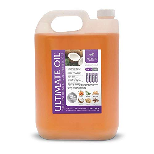 KM Elite Ultimate Oil 25ltr | Value Pack | Ultimate Joint Supplement | High in Vitamins, Amino Acids, Minerals. Fatty Acids, Antibacterial Nutrients
