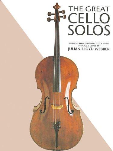 The Great Cello Solos: Noten, Sammelband, Solostimme für Cello, Klavier