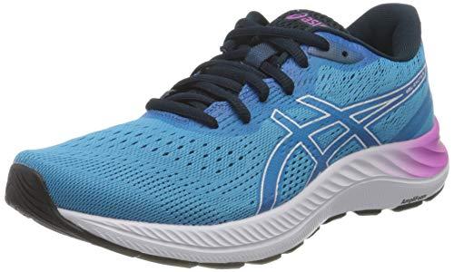 ASICS Damen Gel-Excite 8 Road Running Shoe, Digital Aqua/White, 39 EU