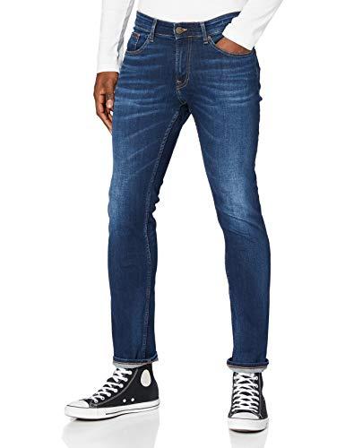 Tommy Hilfiger Herren Scanton Slim ASDBS Jeans, Aspen Dunkelblau Stretch, W34 / L34