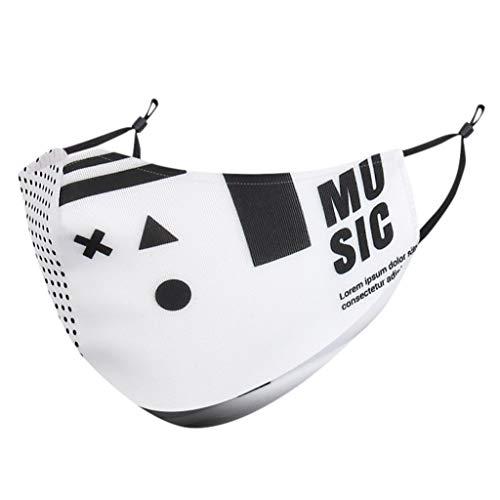 RANTA #Máscara# a- ntipolvo con Gafas de Sol,  carbón Activado a Prueba de Polvo con Filtro Extra de Hoja de algodón y válvulas para Correr,  Ciclismo,  Gas de Escape,  alergia al Polen