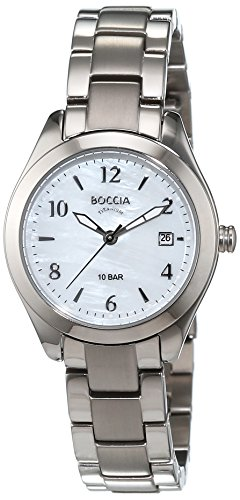 Boccia Damen-Armbanduhr XS Analog Quarz Titan 3300-01