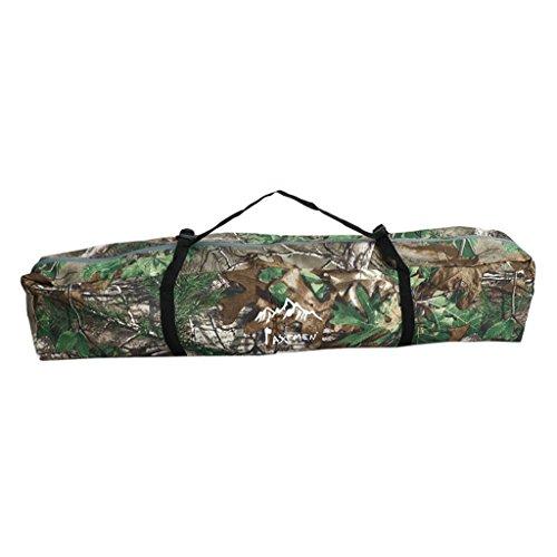 Sharplace Sac de Transport pour Tente de Camping Sac de Pêche en Polyester Boucle Fermeture à Glissière - Aléatoire, 80x15x14cm