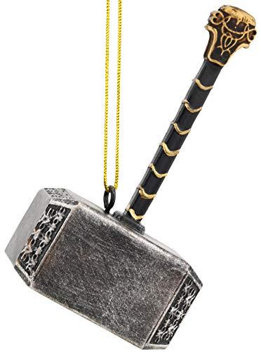 Tree Buddees Mjölnir Thor's Hammer Christmas Ornament Decoration