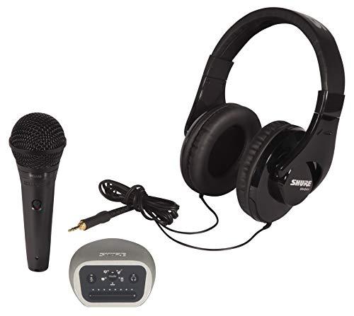 Kit Di Prodotti P58-Cn-240-Mvi-Efs Shure Per La Registrazione Digitale, Composto Da Microfono Pga58, Cuffie Srh240A E Interfaccia Audio Mvi
