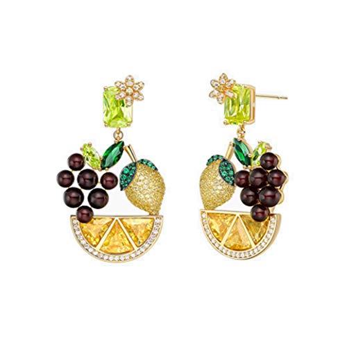 Women Teens Funny Fruit Food Dangle Earring Fashion Sweet Earrings