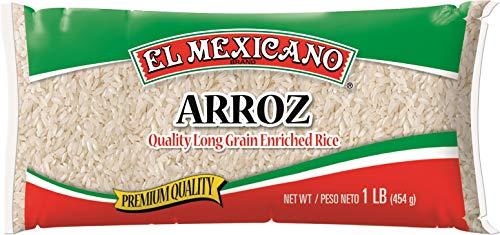 El Mexicano Premium Quality Long Grain Rice (1lb 9 pack)
