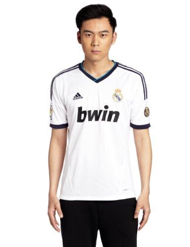 adidas Fußballtrikot Real Madrid, weiß, XL, 380100000239