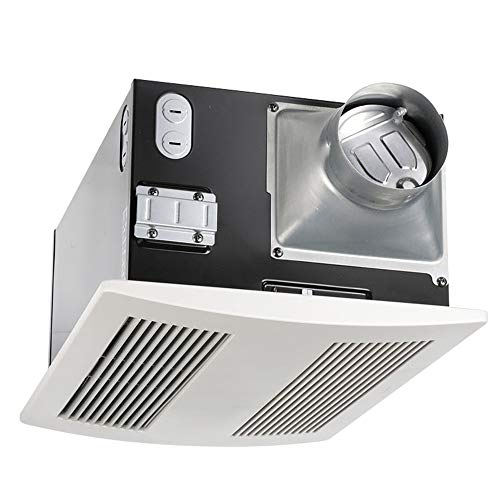 Panasonic FV-11VH2 WhisperWarm 110 CFM Ceiling Mounted Fan/Heat Combination, White