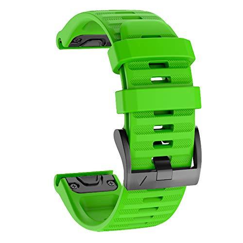 Isabake Correa de Reloj para Garmin Fenix 6/6 Pro, Fenix 5/5 Plus, Forerunner 935, Forerunner 945, Approach s60, quatix 5, Banda QuickFit de 22 mm de Ancho