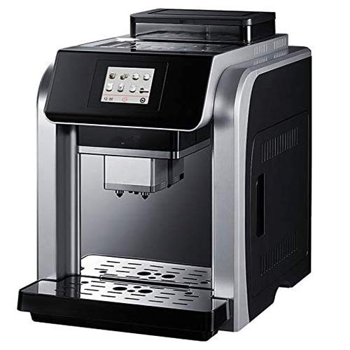 HIZLJJ Kaffeemaschine for Gewerbe Kaffeevollautomat Doppelkessel Italienisch Fancy Touch-Kaffee-Maschine