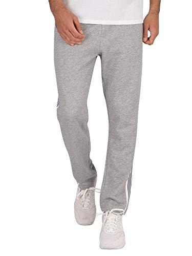 GANT Herren D1 Stripe Sweat Pants Sporthose, Grau (Grey Melange 93), 58 (Herstellergröße: XL)