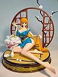 CHAOGG Craft Toy Estatua Decoración One Piece GK Country Kimono Figura de acción 26Cm Modelo Anime Prototipo Estatua Colección Juguete Decoración de Escritorio PVC Figura de acción Mo