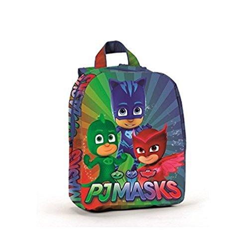 Coriex PJ Masks Pigiama Eroi a95762Zaino per Bambini, 27Centimeters, Poliestere, Multicolore, Catboy, eulette, Gecko