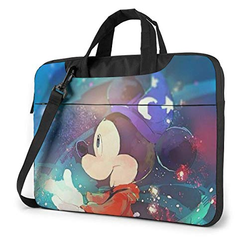 15.6 Inch Laptop Bag Mickey Mouse Laptop Briefcase Shoulder Messenger Bag Case Sleeve