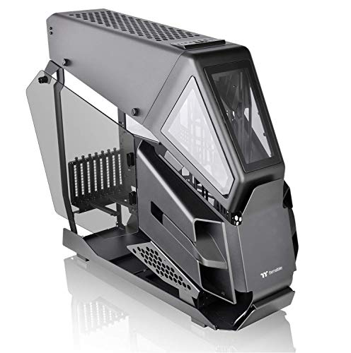 Thermaltake AH T600 Helicopter Styled Open Frame Tempered Glass Swing Door E-ATX Full Tower Case CA-1Q4-00M1WN-00