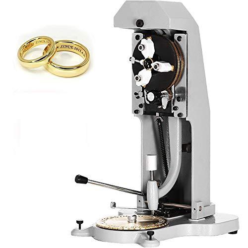 Máquina de grabado de anillo, grabadora de anillo interior de doble cara de acero de alta intensidad, letras, números, símbolos, herramientas para hacer joyas