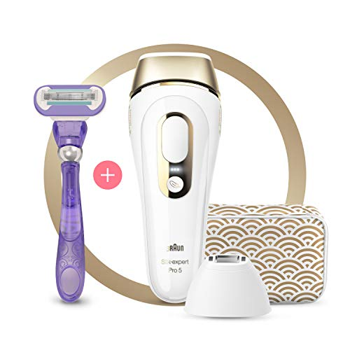 Braun IPL Silk Expert Pro 5 PL5137 Generation IPL, Permanent Visible Hair Removal for Women and Men...