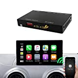 Carlinkit Wireless iOS Carplay Receiver Box Interface for Audi A3 (13-19) Original carplay retrofit(Support Navigation,Google&Waze Map, Music,Mirroring).