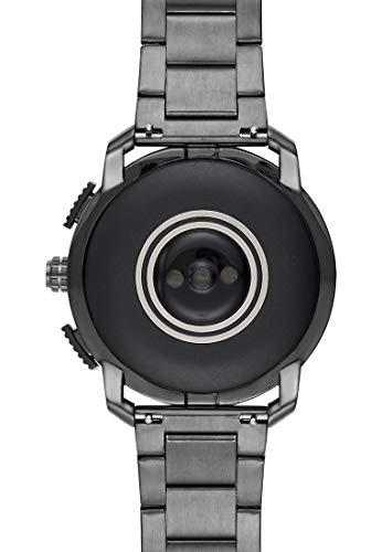 Diesel Homme Écran Tactile Digital Montre Connectée avec Bracelet en Acier Inoxydable DZT2017