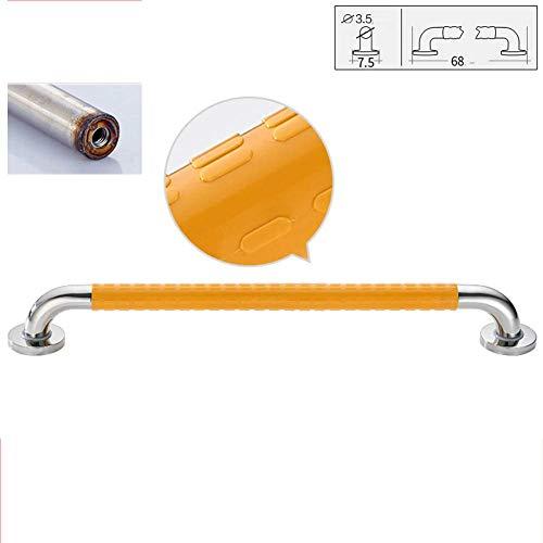Douchestang met anti-slip kraan, veiligheidsrail voor wc-garnituur van roestvrij staal, voor badkuipen, toilet, trapleuning, montage met schroef 38 68