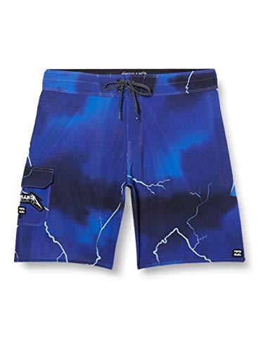 BILLABONG - Bañador de Surf de pantalón con Estampado - Hombre - 32 - Morado