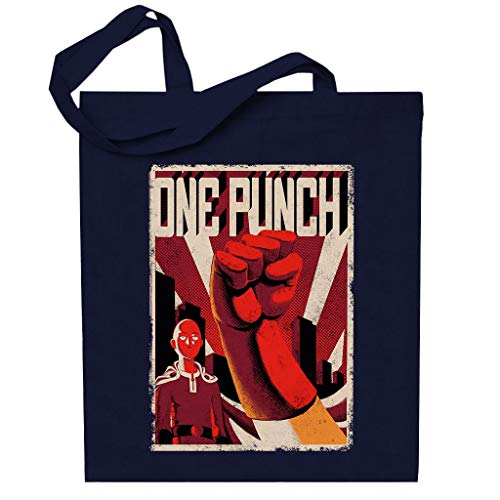 One Punch Man Russian Communist Style Poster Totebag
