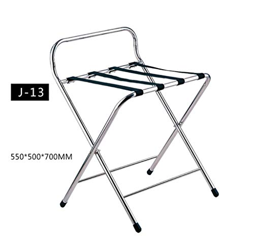 Purchase XLJ-YJ Hotel Luggage Rack Stainless Steel Room Luggage Rack High-end Display Rack Household...