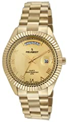 """Solid stainlees 40mm diameter case, bracelet & coin edge bezel Iconic design makes a perfect everyday work dress watch Dial with day, date indicator windows & roman numerals. 20mm wide bracelet with removable links fits upto 9"""" wrists Packaged in an ..."""