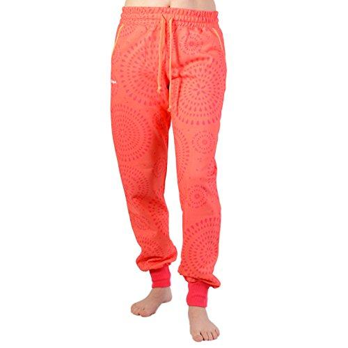 Desigual Tracksuit Pant Damen Fitnesshose Sporthose Workout Living Coral, Größe:M