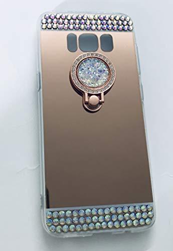 YL - Soporte para caja de teléfono para Sumsung Note 8 S9 Plus S8 Plus S7 Edge S6 (para Sumsung S9, rosa (rosa rojo))