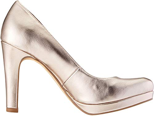 Tamaris Damen 1-1-22426-22 Pumps, Gold (Rose Metallic 952), 38 EU