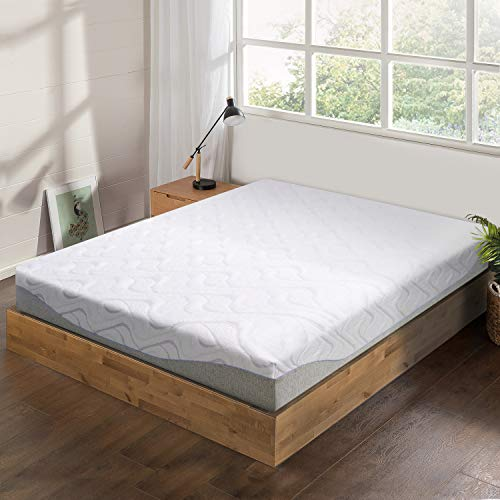 Best Price Mattress 9 Inch Cooling Gel Memory Foam Mattress, Pressure Relieving, Bed-in-a-Box, CertiPUR-US Certified, Queen