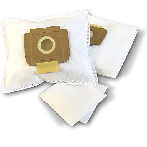 ZZ-Clan 10 Staubsaugerbeutel für AEG Vampyrino 100-199, Staubbeutel Filtertüten (+2 Filter - NV614)